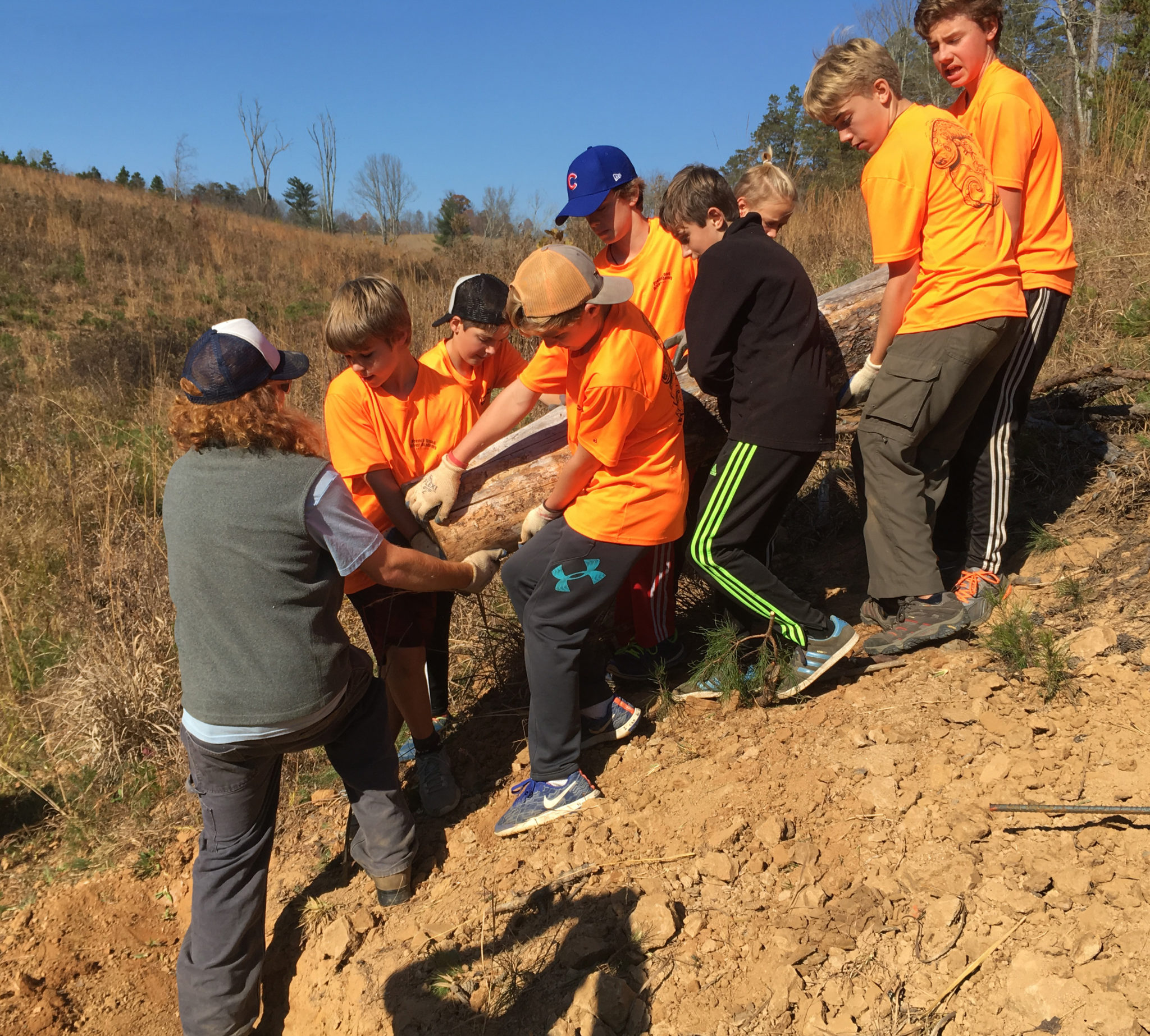 Highlands Ranch Water Hardness: FBRA Volunteers Build Trails At Community Farm