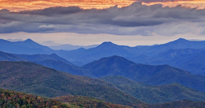 Clearing storm over Rocky Fork by David Ramsey