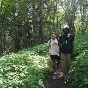 The Blackalachian at Snowball Mtn hike with SAHC