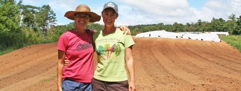 Half Pint Farm - two women farmers