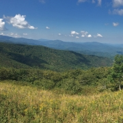 Panoramic view of Hump Mountain property