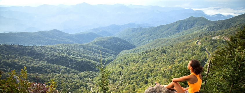 View from Waterrock Knob