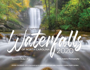 Waterfalls calendar cover