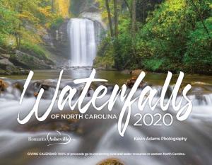 Waterfalls calendar cover