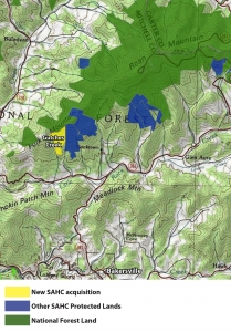 Gutches Creek map