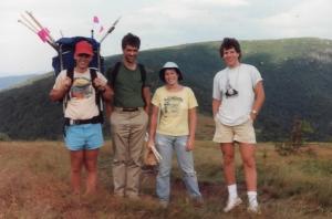 Roan field crew in 1987