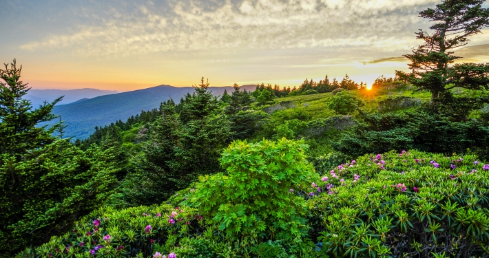 Sunset in the Roan