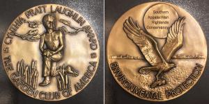 Cynthia Pratt Laughlin medal