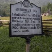 Sherrill's Inn Historic Marker