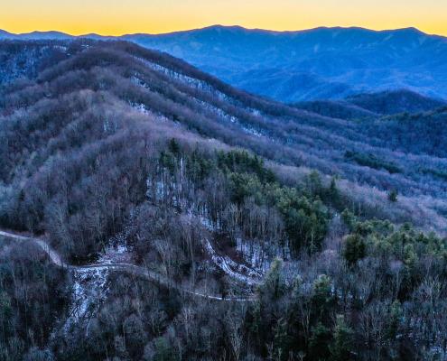 Cove Creek Gap view