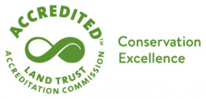 Land Trust Accreditation Commission seal and slogan